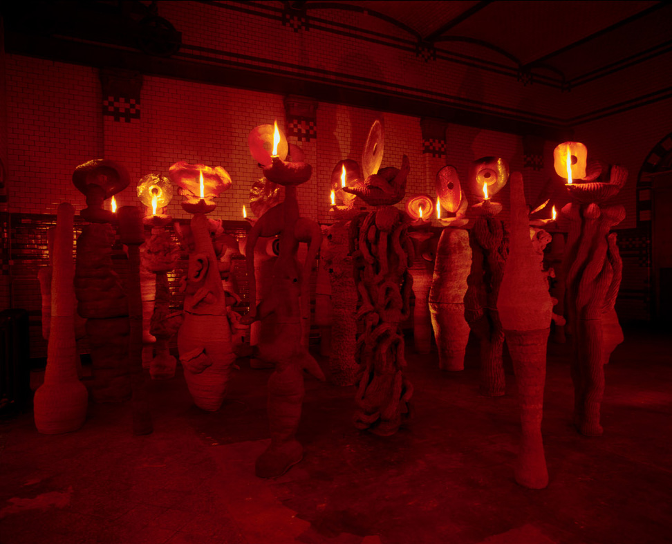 The Apostles Speaking in Tongues Lit By Their Own Lamps 1993–96