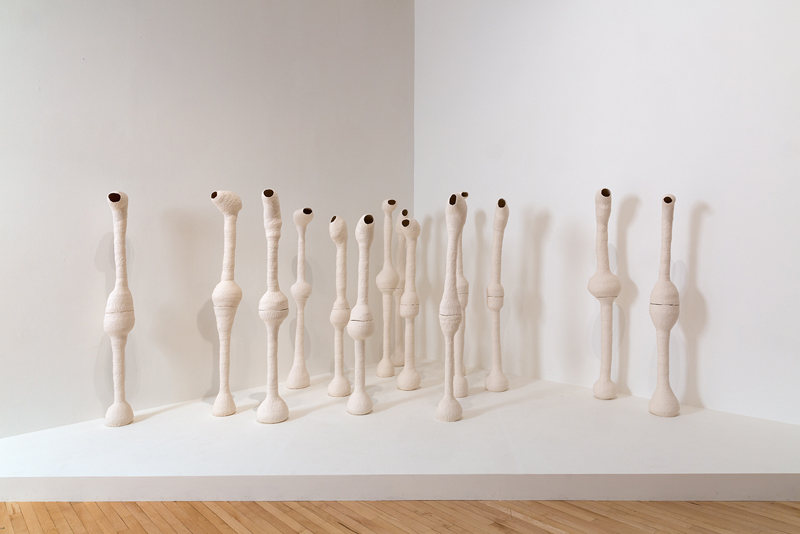 Liar Liar 2007–09 15 unglazed ceramic figures Height: 73 cm | 29 in (approx.)